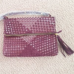 NWT Steven by Steve Madden Weave Pattern Bag